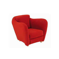 MINI MILLER ARM CHAIR Red